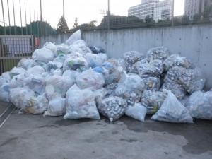 区民体育大会 ゴミ1